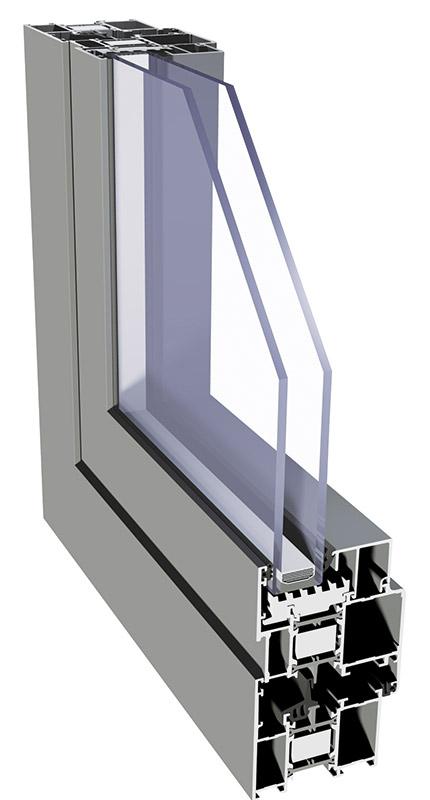Imperial 65 - Alumínium ablak