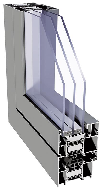 Superial 75 - Alumínium ablak